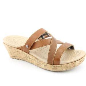 Croc's A-Leigh mini wedge sandal